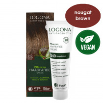 Logona Herbal Hair Colour Cream 240 Nougat Brown 150ml