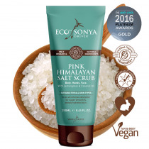 Eco by Sonya Organic & Natural Pink Himalayan Salt Scrub 250ml