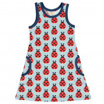 Maxomorra Lazy Ladybug Dress
