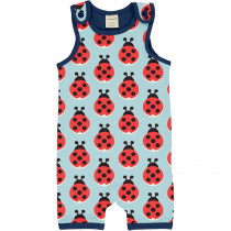 Maxomorra Lazy Ladybug Rompersuit Short Sleeved