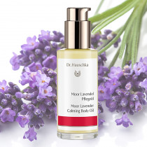Dr Hauschka Moor Lavender Calming Body Oil 75ml