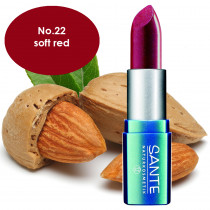 Sante Lipstick No. 22 Soft Red 5g