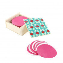 Lamazuna - Reusable Makeup Pads 10 pcs in Wooden Box