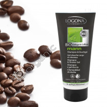 Logona Mann Shampoo & Shower Gel 200ml