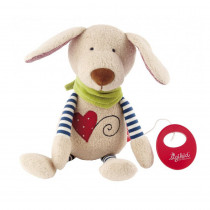 Sigikid Musical Dog, Organic Cotton