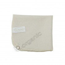 The Eco Bath Organic Cotton Muslin Face Cloth (Natural)
