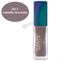Sante Nail Polish No. 7 Metallic Lavender 7ml