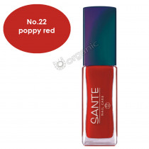 Sante Nail Polish No. 22 Poppy Red 7ml