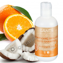 Sante Organic Orange & Coconut Gloss Shampoo 200ml