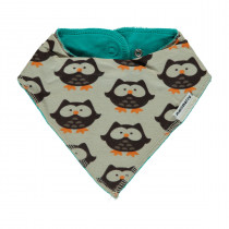 Maxomorra Owl Dribble Bib - One Size