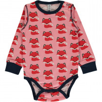 Maxomorra Fox Bodysuit Long Sleeved