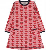 Maxomorra Fox Longsleeved Dress