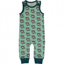 Maxomorra Raccoon Playsuit Long