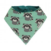 Maxomorra Raccoon Dribble Bib - One Size