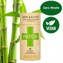 Patch Biodegradable Bamboo Plasters (Aloe Vera) - 25 Plasters