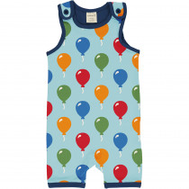Maxomorra Balloon Playsuit Short