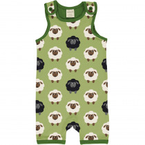 Maxomorra Sheep Playsuit Short