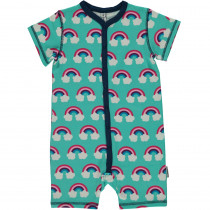 Maxomorra Rainbow Rompersuit Short Sleeved