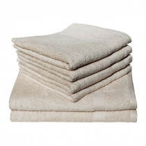 Dyckhoff Planet Towel 100% Organic Cotton - Sandy Beige