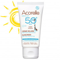 Acorelle Sun Cream SPF 50 - Baby (3 months and up) 50ml