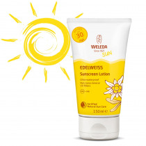 Weleda Edelweiss Sunscreen Lotion SPF30 150ml