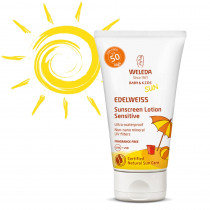 Weleda Edelweiss Sunscreen Lotion SPF50 Sensitive 50ml