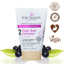 Eco by Sonya Super Acai Exfoliator Intense Face Scrub 100ml