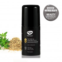 Green People for Men NO. 8 Thyme & Prebiotics Deodorant 75ml