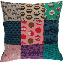 Maxomorra Mix Upcycled Pillow Case