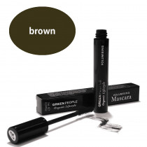 Green People Volumising Mascara - Brown 7ml