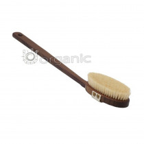 The Eco Bath Natural Sisal Walnut Body Brush