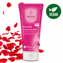 Weleda Wild Rose Creamy Body Wash 200ml