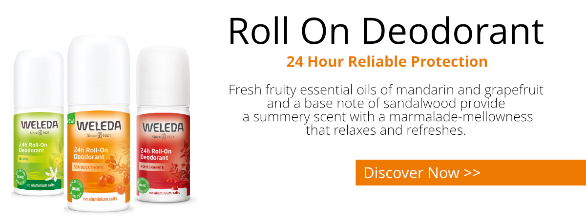 24 Hour Roll On Deodorant By Weleda